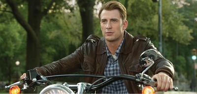 Chris Evans als Steve Rogers aka Captain America