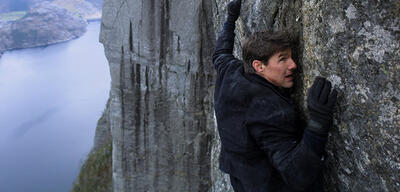 Tom Cruise in Mission Impossible 6 - Fallout