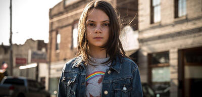Dafne Keen als Laura Kinney in Logan - The Wolverine