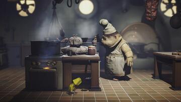 Szene aus dem Videospiel Little Nightmares