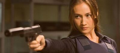 Maggie Q in Die Hard 4.0