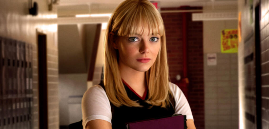 Emma Stone in The Amazing Spiderman