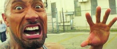 Dwayne The Rock Johnson in Pain & Gain