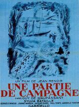 Eine Landpartie - Poster
