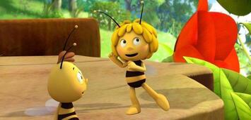 Bild zu:  Die (sittsame?) Biene Maja