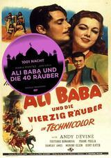 Ali Baba und die vierzig Räuber - Poster