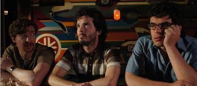 Murray, Bret und Jemaine in Flight of the Conchords