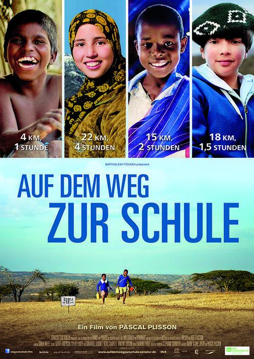 Auf dem Weg zur Schule - Poster