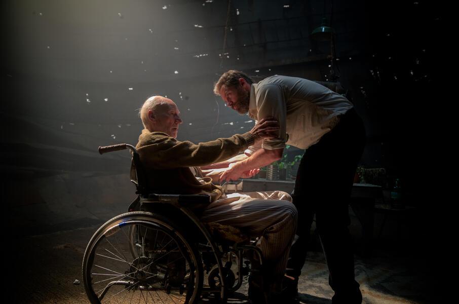 Logan - The Wolverine mit Hugh Jackman und Patrick Stewart
