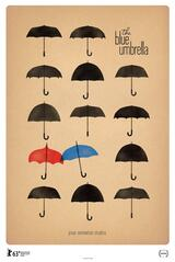 The Blue Umbrella - Poster