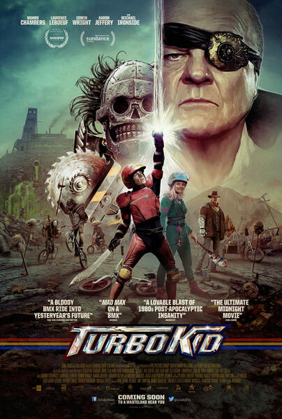Turbo Kid mit Michael Ironside, Laurence Leboeuf und Munro Chambers