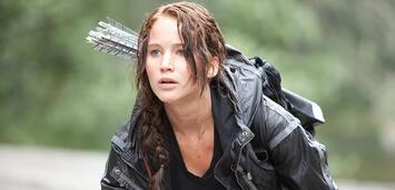 Bild zu:  Jennifer Lawrence als Katniss Everdeen