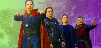 Doctor Strange, Tony Stark und Co. in Infinity War