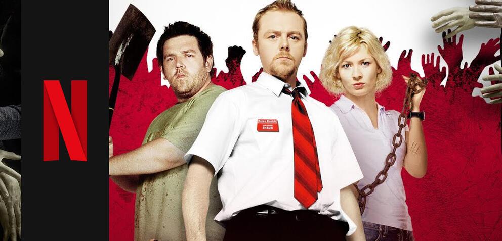 Shaun of the Dead verschwindet bald bei Netflix