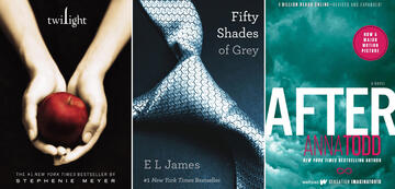 Die Bestseller: Twilight, Fifty Shades of Grey, After