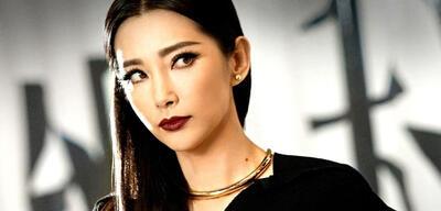 Li Bingbing auf dem chinesischen Poster zu Transformers 4