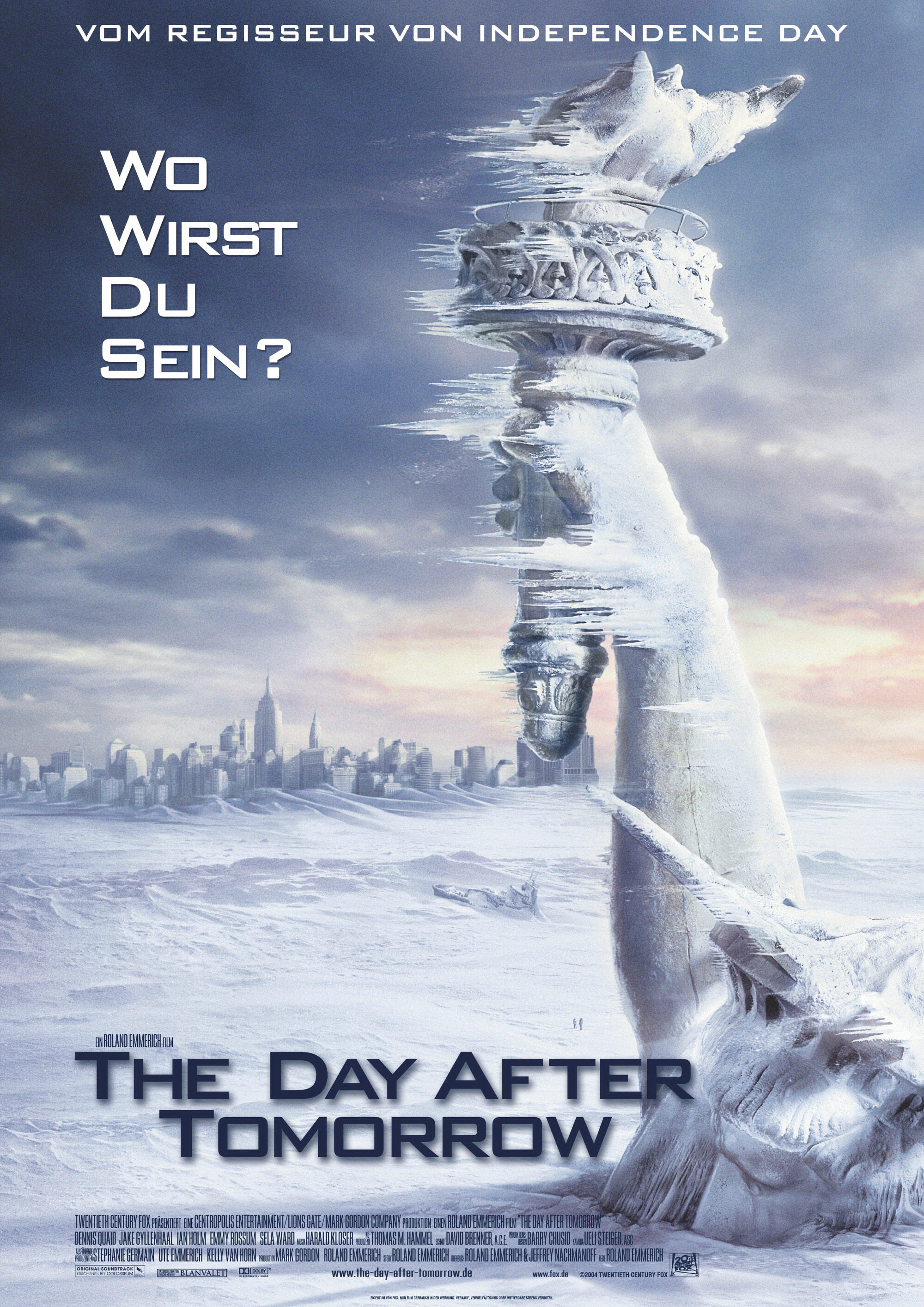 The Day After Tomorrow Besetzung