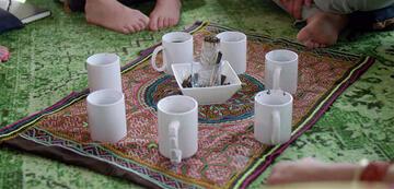 Magic Mushroom-Tee für das Goop-Team.