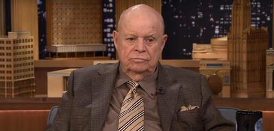 Don Rickles bei einem Auftritt in der Tonight Show mit Jimmy Fallon (2015)