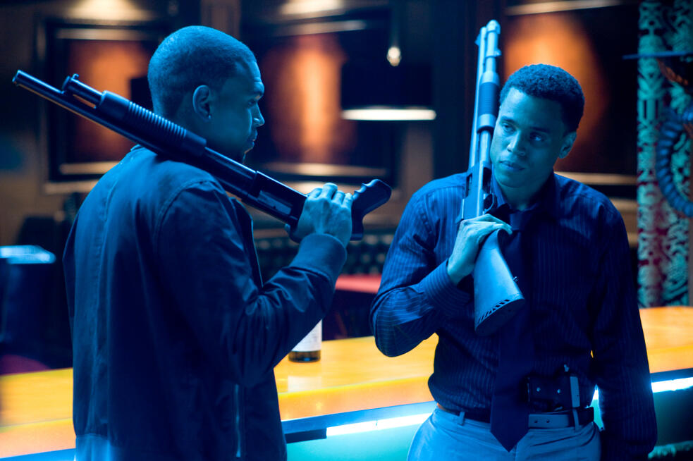 Takers mit Michael Ealy