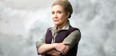 Carrie Fisher als Prinzessin Leia
