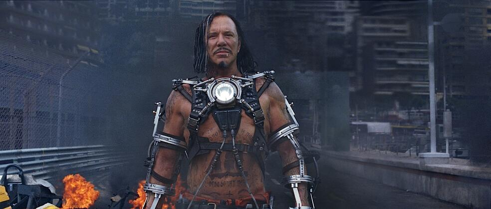 Iron Man 2 mit Mickey Rourke
