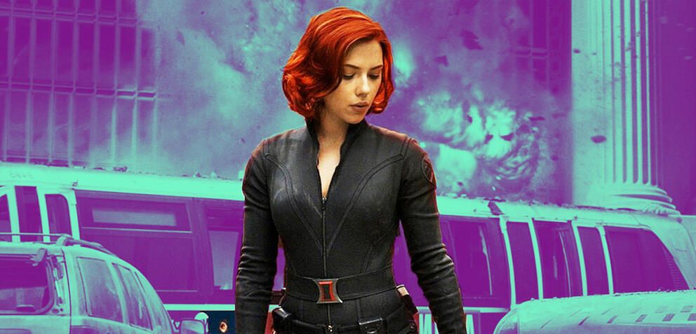 Black Widow in Marvel's The Avengers