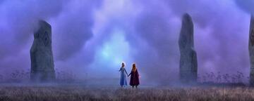 Die Eiskönigin 2: Elsa und Anna an der Pforte zum verwunschenen Wald