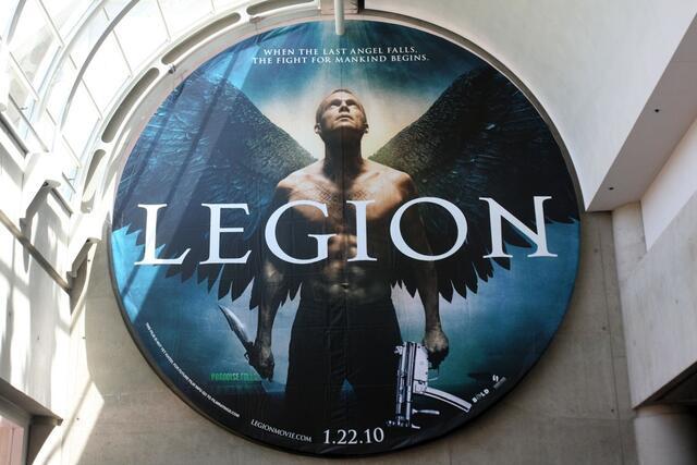 Das Filmplakat von Legion