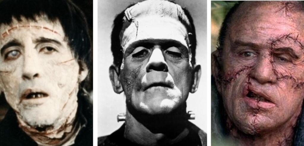 Monster Frankenstein im Film