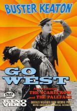 Buster Keaton, der Cowboy