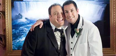 Kevin James und Adam Sandler in Chuck und Larry