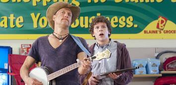 Bild zu:  Woody Harrelson und Jesse Eisenberg in Zombieland