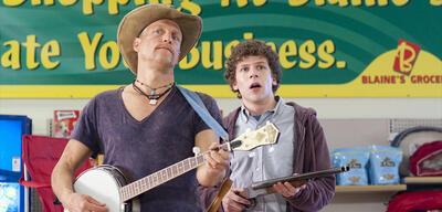 Woody Harrelson und Jesse Eisenberg in Zombieland