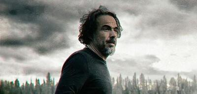 Alejandro González Iñárritu am Set von The Revenant