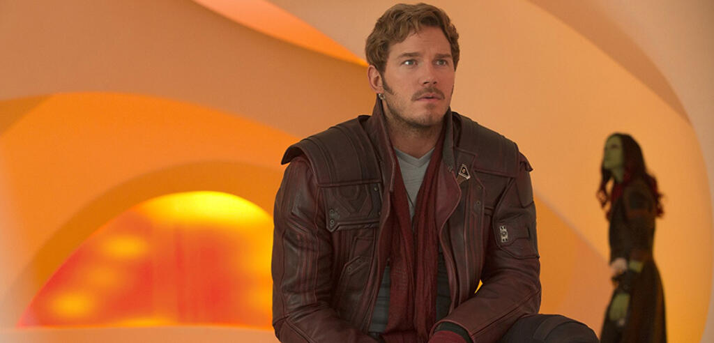 Chris Pratt in Guardians of the Galaxy Vol. 2