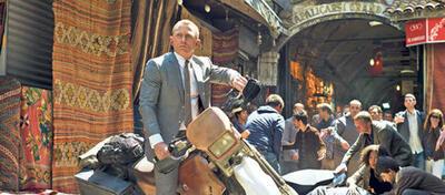 Daniel Craig schon auf dem Weg zum nächsten Dreh? Szene aus Skyfall