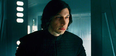 Adam Driver in Star Wars Episode VIII