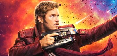 Chris Pratt als Star-Lord in Guardians of the Galaxy 2