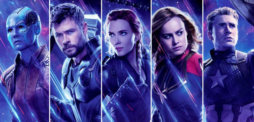 Einige der Marvelhelden