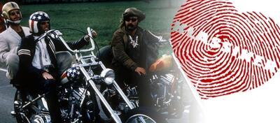 Hopper, Fonda und Nicholson in Easy Rider