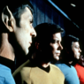 The captains mit leonard nimoy und william shatner