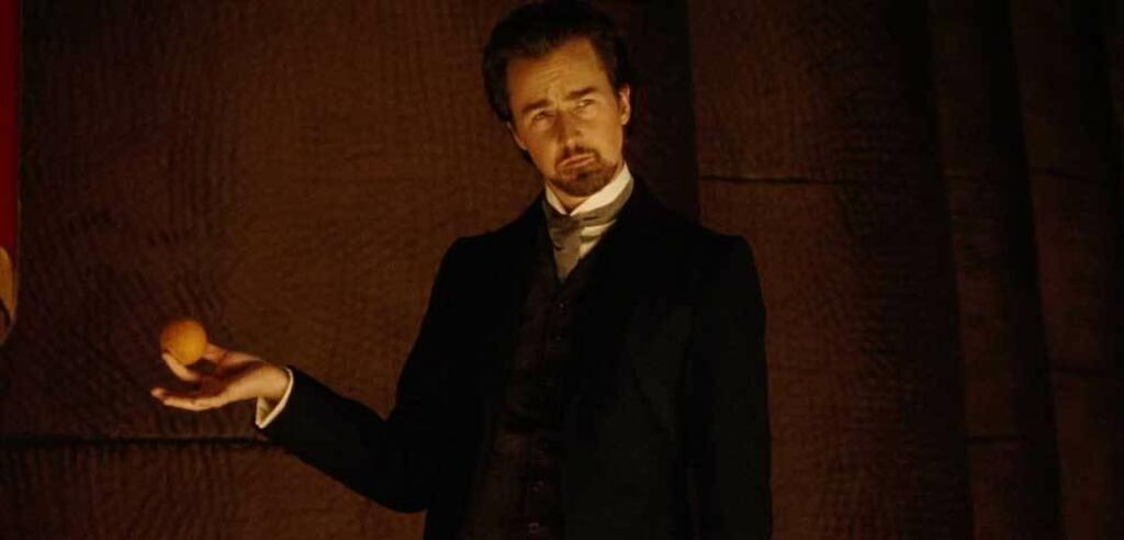 Edward Norton in The Illusionist