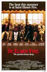 St. Elmo's Fire - Die Leidenschaft brennt tief - Poster