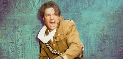 Brendan Fraser in Die Mumie