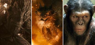 Das Monster, Smaug und Caesar haben alle bekannte Synchronstimmen
