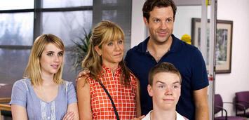 Bild zu:  Wir sind die Millers mit Emma Roberts, Jennifer Aniston Jason Sudeikis und Will Poulter