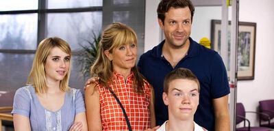 Wir sind die Millers mit Emma Roberts, Jennifer Aniston Jason Sudeikis und Will Poulter