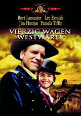 Vierzig Wagen westwärts - Poster