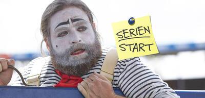 Zach Galifianakis als Clown Chip Basket